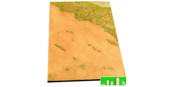 Airfield unpaved (size A5)