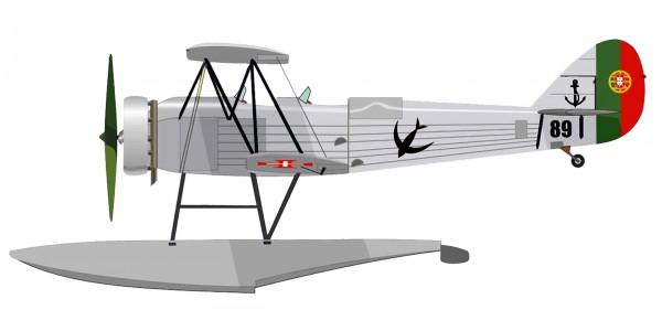 Avro 626 Prefect floats