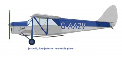 De Havilland DH-80A Puss Moth (Amy Johnson)