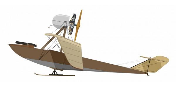 E.R. Engels II. LeRhone (with skis)