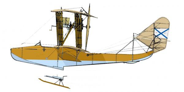 Grigorovich M-20 ski