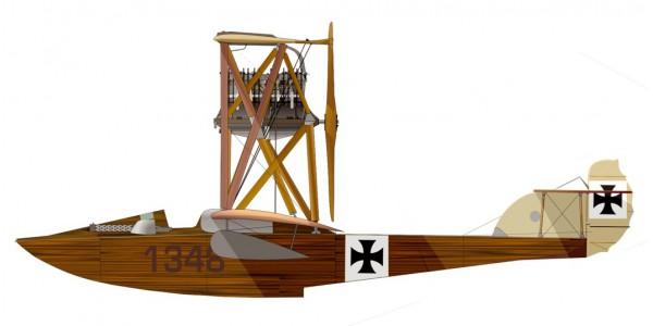 Hansa Brandenburg W.22 cc No.1348