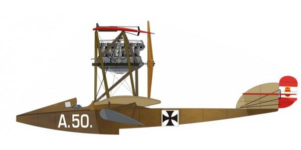 Hansa Brandenburg W.18 Hiero 200Hp