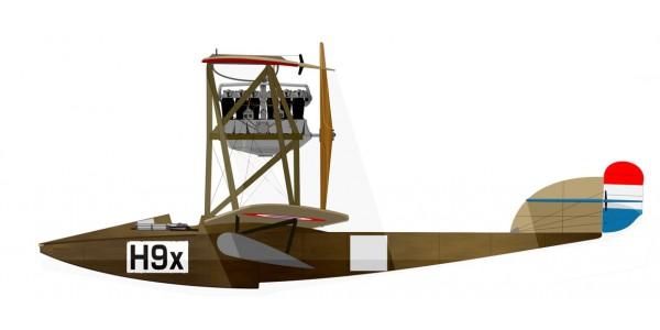 Hansa Brandenburg W.18 Hiero 230Hp