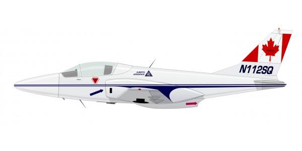Alberta Aerospace Sigma Jet F 1300